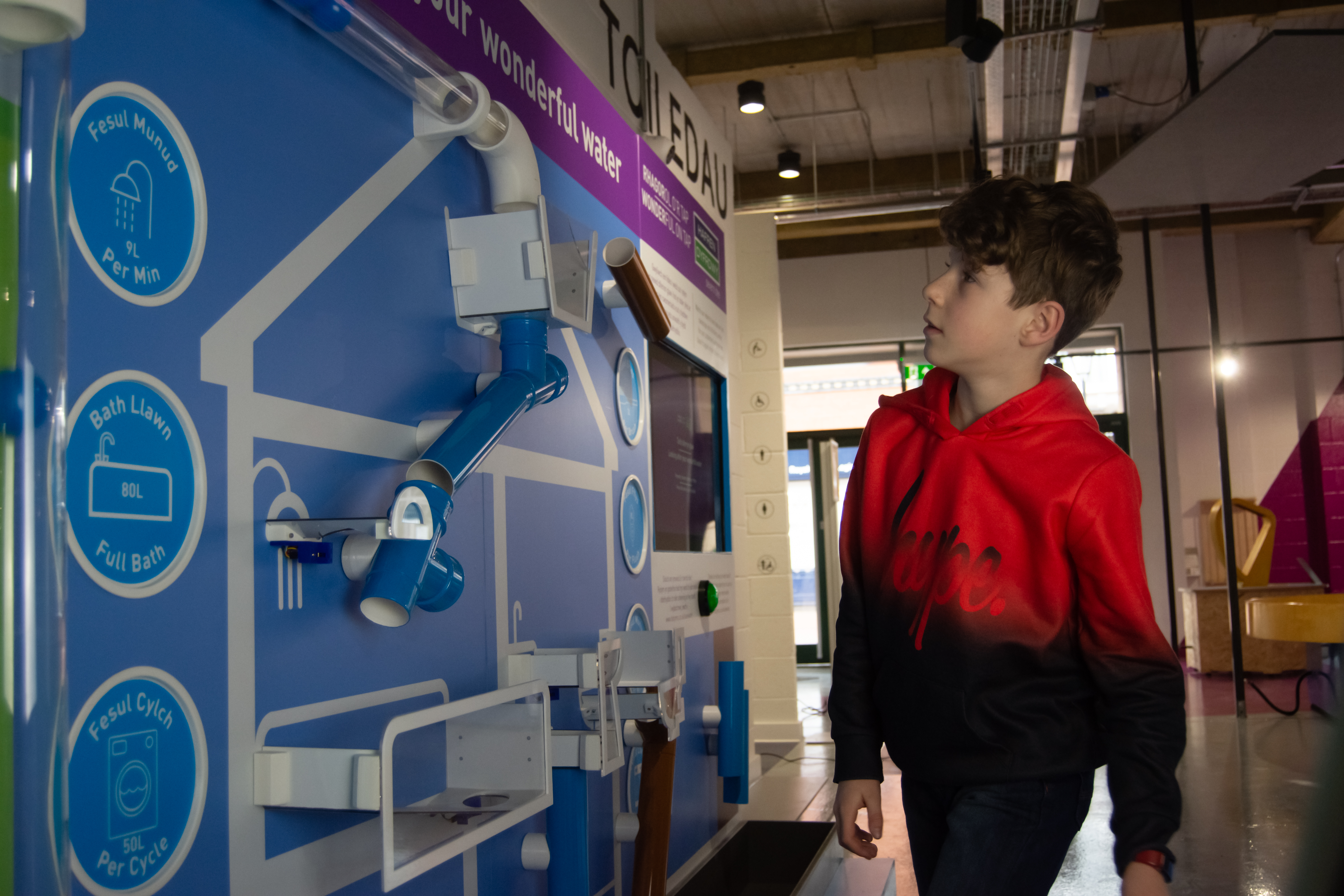 New water exhibits at science discovery centre thanks to sponsorship